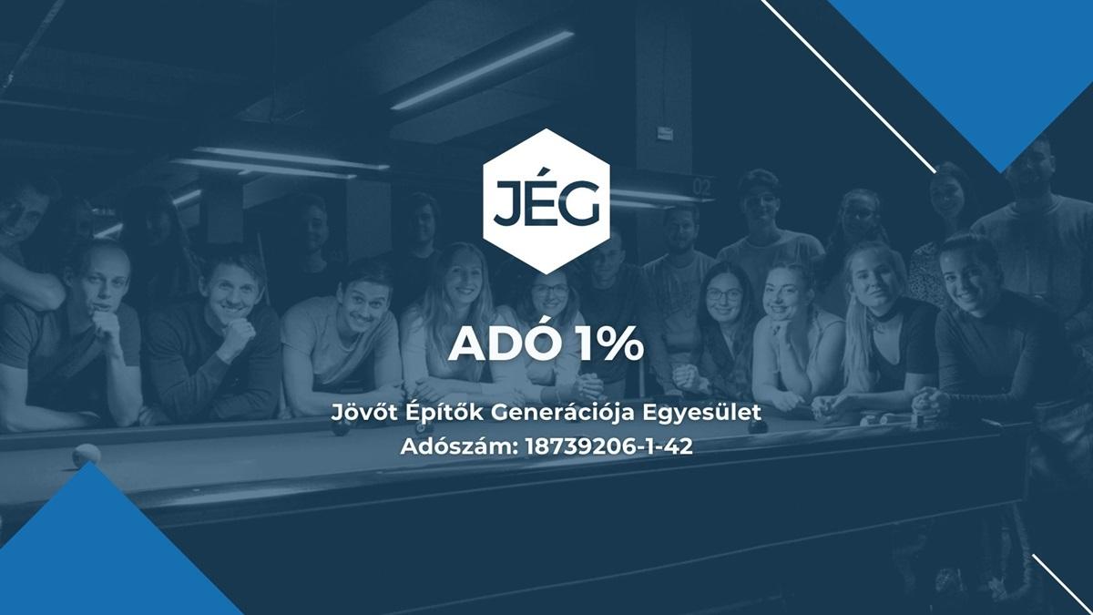 JÉG - Adó 1%